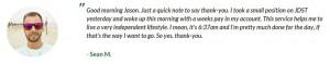 Jason Bond Testimonial