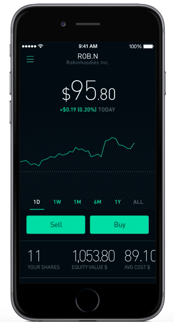 Robinhood-iPhone-Application