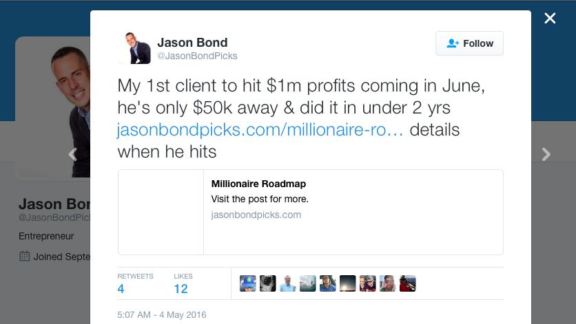Millionaire Roadmap Client Success