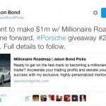 Jason Bond Millionaire Student Number Two