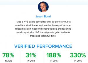 Jason Bond Track Record of Success