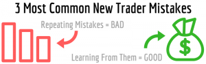 3 Most Common New Trader Mistakes