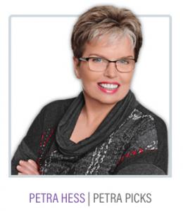 Petra Hess of Petra Picks