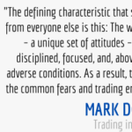 mindset quote from trading in the zone by mark douglas