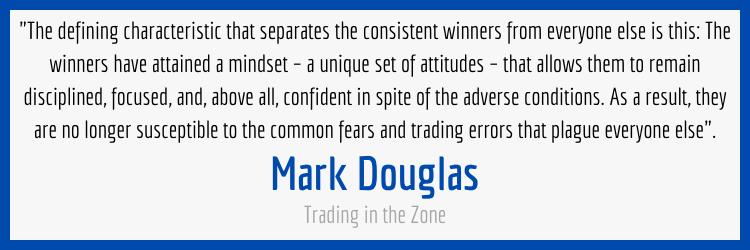 Mark Douglas Trading Mindset Quote