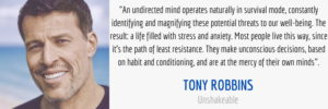 Mind Quote From Unshakeable By Tony Robbins