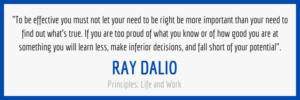 Ray Dalio Principles Quote
