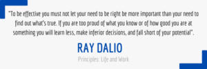 Ray Dalio Quote About Truth
