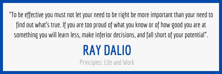 Ray Dalio Truth Quote