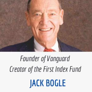 Jack Bogle Index Fund Creator and Vanguard Founder