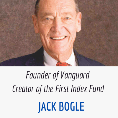 Jack Bogle Index Fund Creator and Vanguard Founder