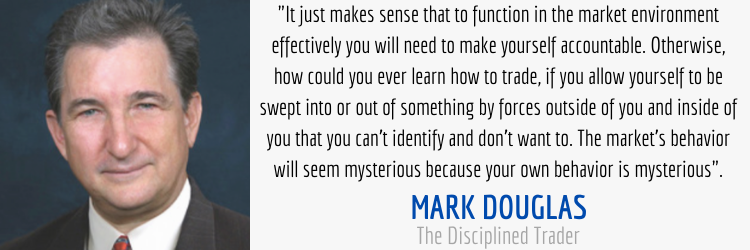 Mark Douglas The Disiciplined Trader market environment quote
