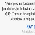 Ray Dalio Importance of Principles Quote