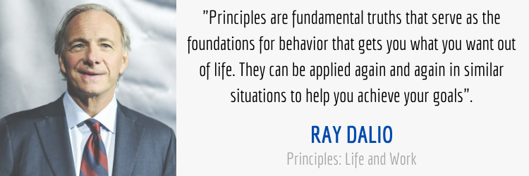 Ray Dalio Importance of Principles Quote