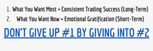 what you want most consistent trading