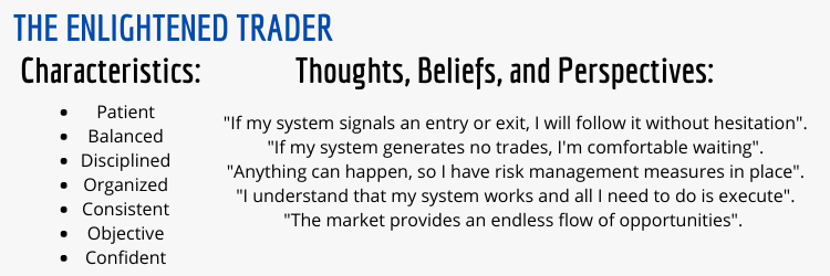 The Enlighted Trader Characteristics