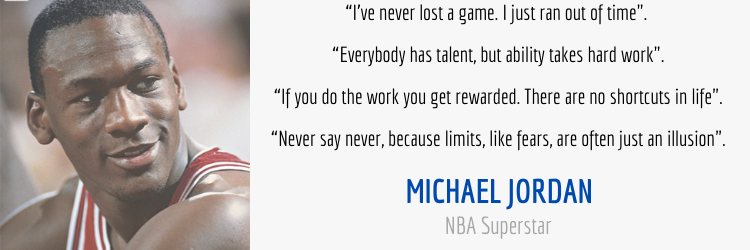 Mindset and Performance Quotes From Michael Jordan