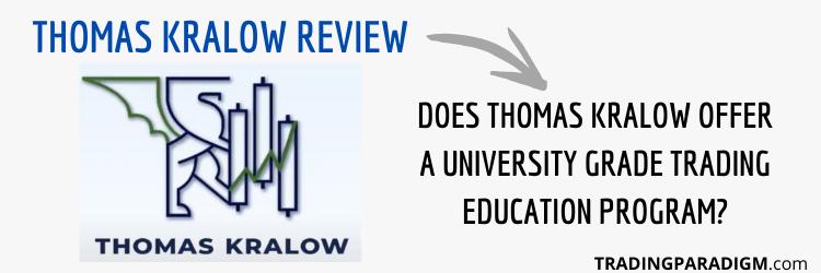Thomas Kralow Review - What is Thomas Kralow Trading