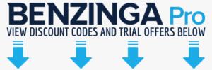 Benzinga Pro Pricing - Get Discount Codes and Coupons
