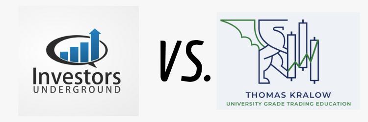 Investors Underground vs Thomas Kralow's Trading Program