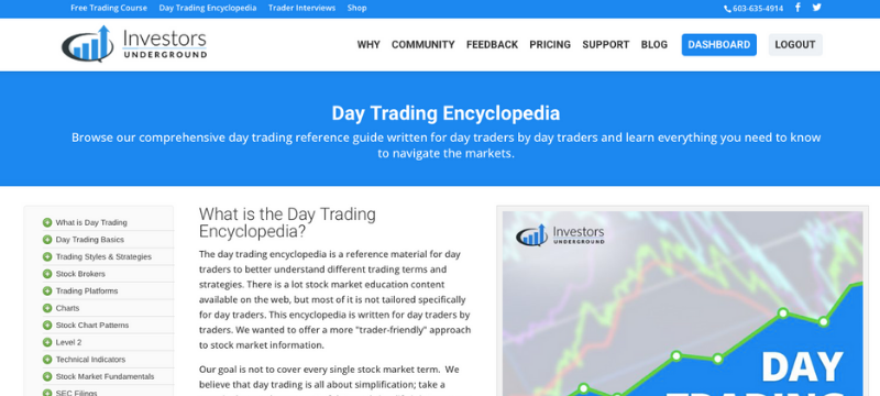 Investors Underground Day Trading Encyclopedia