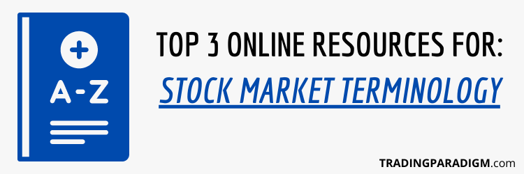 Stock Market Terminology Definitions - Best Free Resources